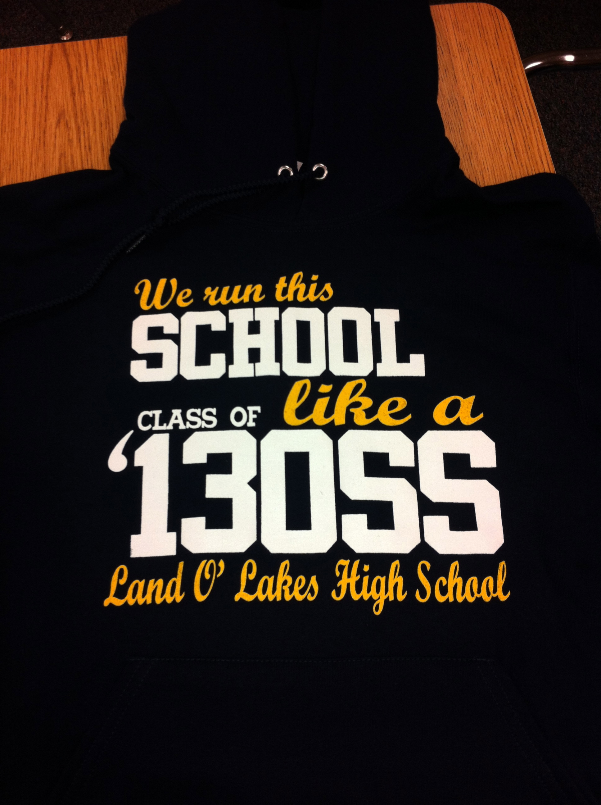 Senior shirts are in!!! | LAND O' LAKES HIGH SCHOOL