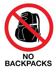 no backpacks last week of school land o lakes high school rh lolhs pasco k12 fl us Large Book Bag Clip Art Get Backpack Clip Art