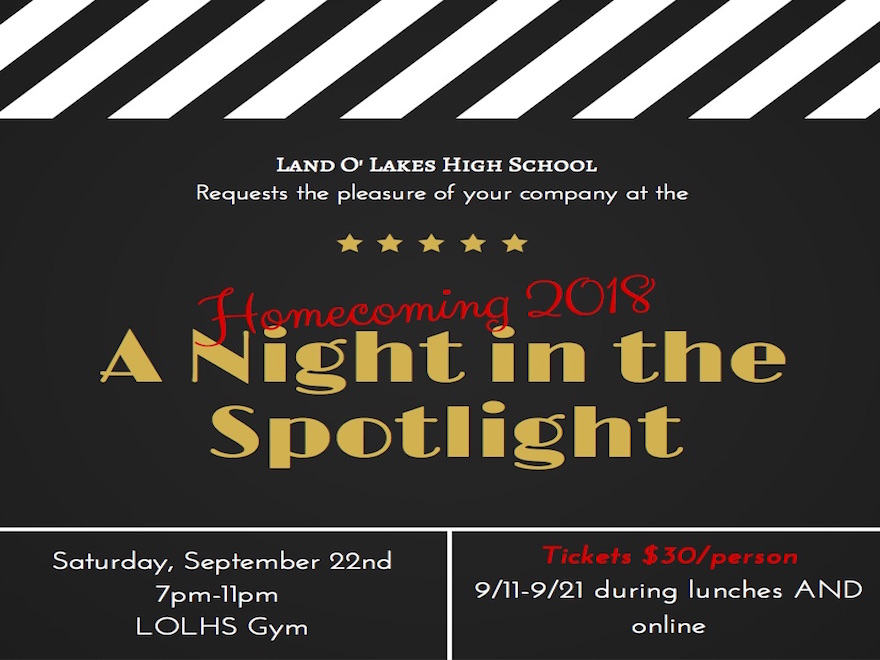 A Night in the Spotlight!