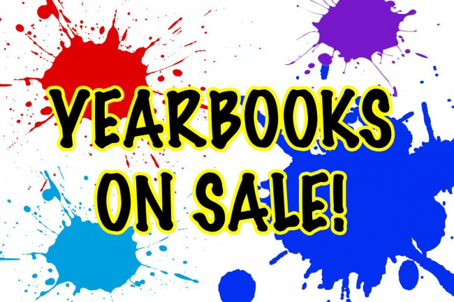 Yearbook still on sale