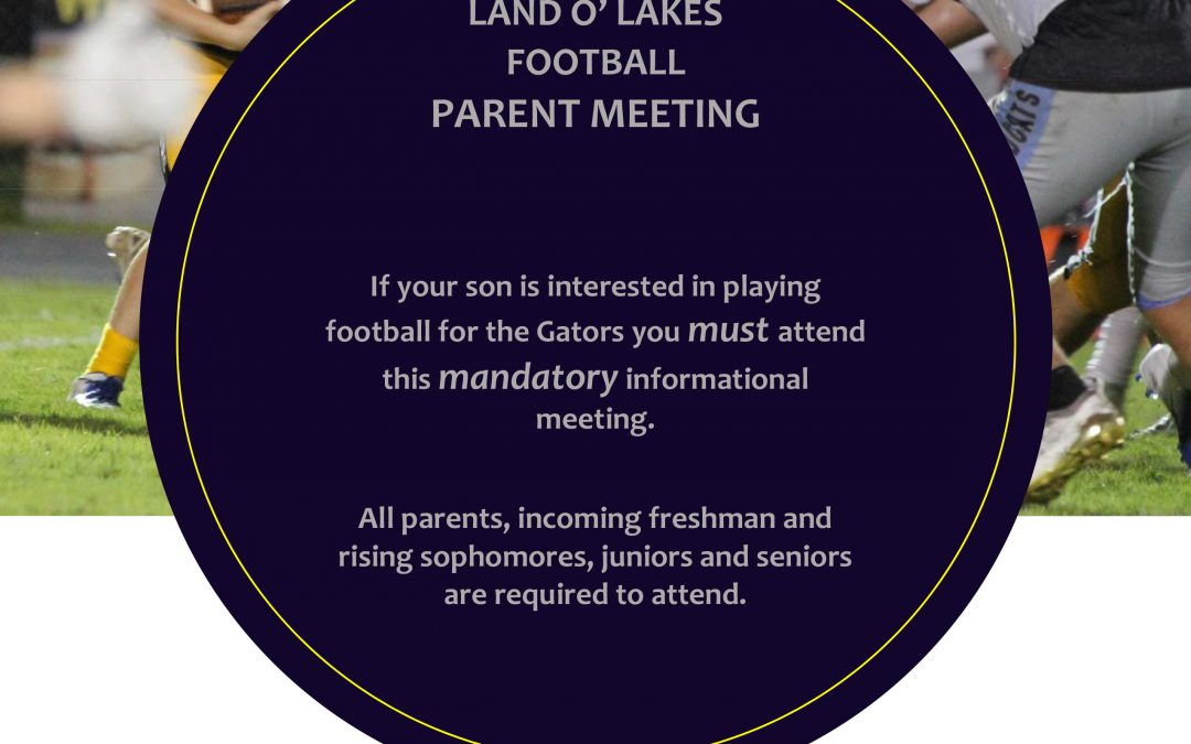 Important Football Meeting