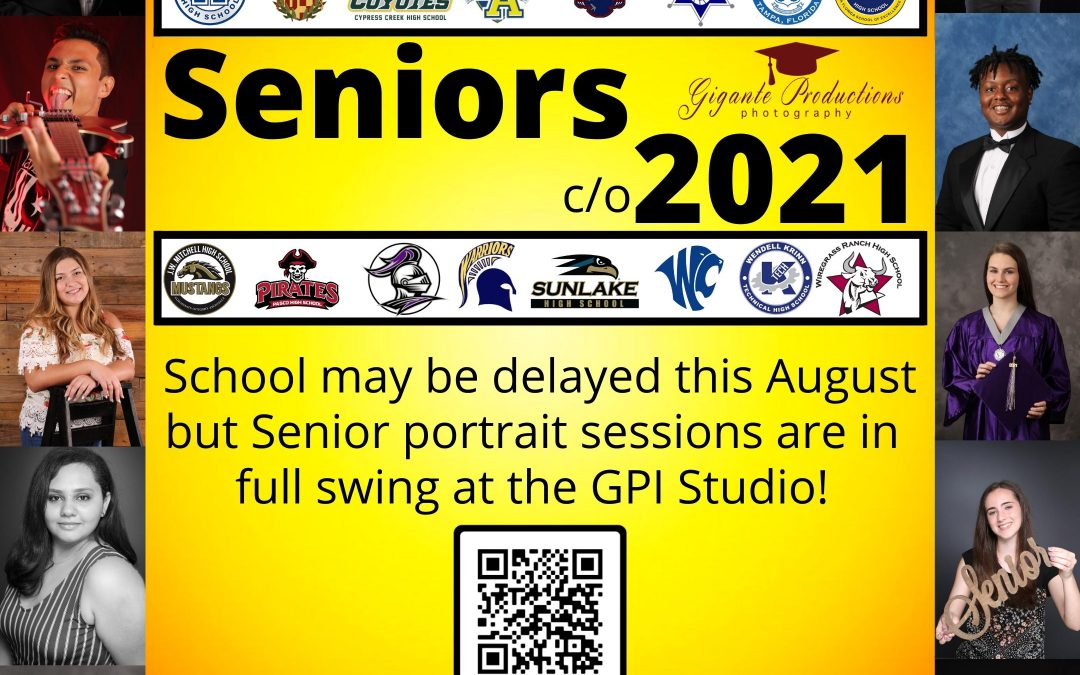Senior Pictures for Class of 2021!