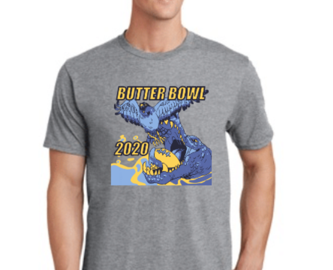 Get your 2020 Butterbowl shirt before they are gone!