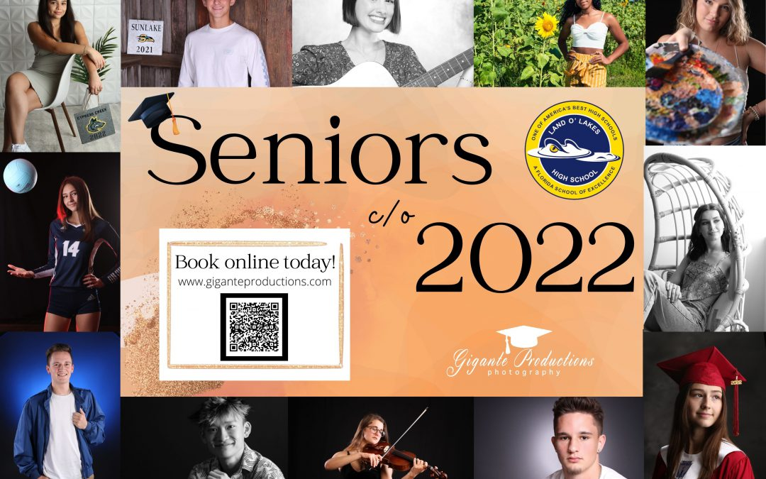 Book Your Senior Pictures Class of 2022!